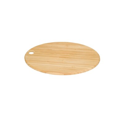 Shun Oval Bamboo Cutting Board