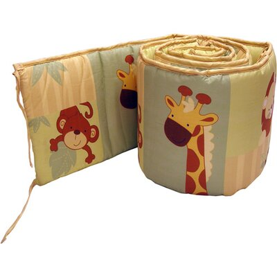 NoJo Safari Kids Traditional Padded Bumper