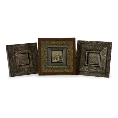 IMAX Hues Picture Frame (Set of 3)