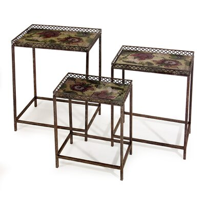 IMAX Maniera 3 Piece Nesting Tables