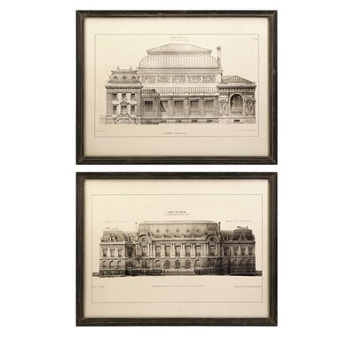 IMAX Duvall Framed Wall Arts (Set of 2)