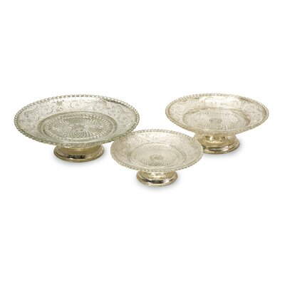 IMAX Irene Pedestal Cake Stands (Set of 3)