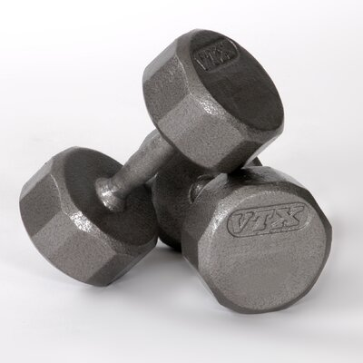 12-Sided Cast Dumbbell