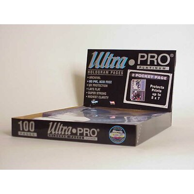 "Ultra Pro 5"" x 7"" Photos Display Box (2 Pocket Pages)"
