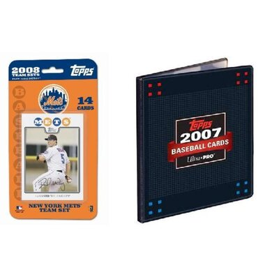 Topps MLB 2008 Trading Card Set - New York Mets