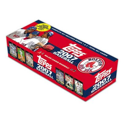 Topps MLB 2007 Factory Trading Card Set - Boston Red Sox (Set of 666)