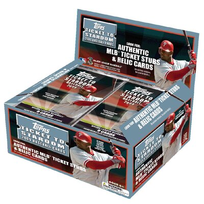 MLB 2009 Trading Cards - Ticket to Stardom Retail (24 Packs)