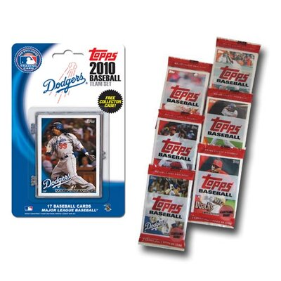 Topps MLB 2010 Team Set with Packs Trading Cards - Los Angeles Dodgers