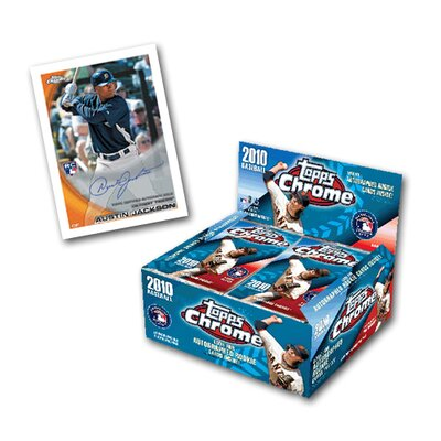 MLB 2010 Chrome Retail Trading Cards (24 Packs)