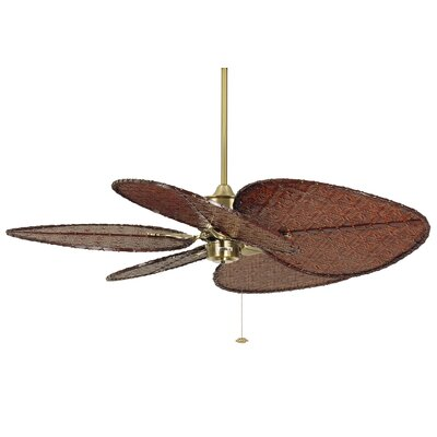"Fanimation 52"" Islander 5 Bamboo Blade Ceiling Fan (Set of 5)"