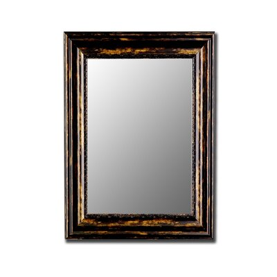 Hitchcock Butterfield Company Exeter Mirror in Antique Copper and Black