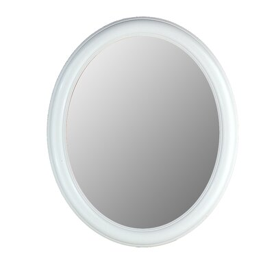 Hitchcock Butterfield Company Premier Series Oval Mirror in Floral White