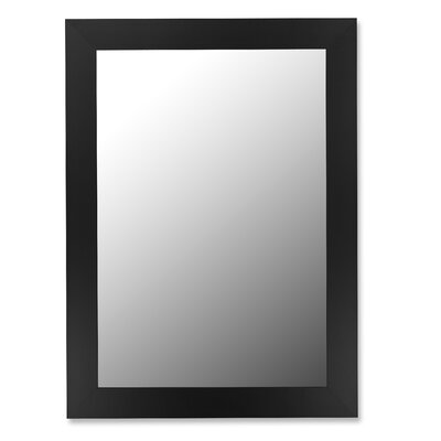Super Nuevo Mirror in Satin Black
