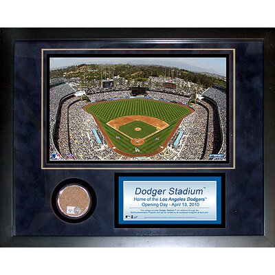 "Steiner Sports Dodger Stadium 11"" x 14"" Mini Dirt Collage"