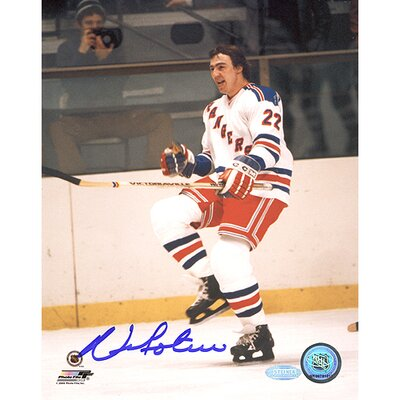 Steiner Sports Nick Fotiu Rangers Pump Fist Autographed Photograph