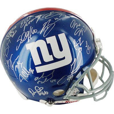 Steiner Sports 2007 New York Giants Team Signed Helmet