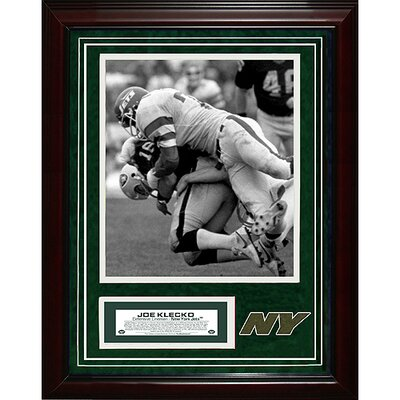 Steiner Sports Joe KlecKo Unsigned Turf Collage with Photograph