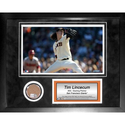 Steiner Sports MLB Tim Lincecum Mini Dirt Collage