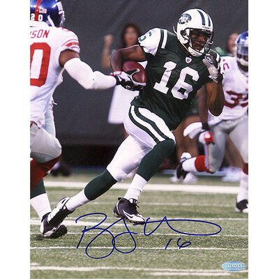 Steiner Sports NFL Brad Smith New York Jets Run Vs. Giants Vertical Autographed