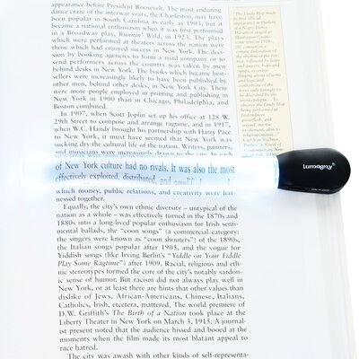 Northwest Bar Magnifier with LED Light