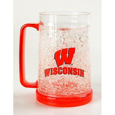 DuckHouse NCAA 16 oz. Crystal Pilsner Glass