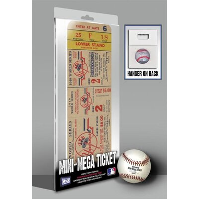 That's My Ticket 1949 MLB World Series New York Yankees Mini Mega Tickets