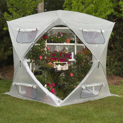 Flowerhouse Bloomhouse Polyethylene Greenhouse
