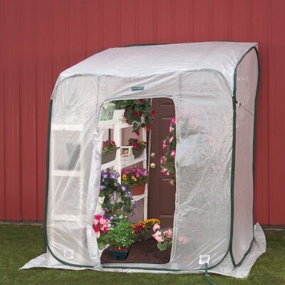 Flowerhouse Hothouse Polyethylene Lean-To Greenhouse
