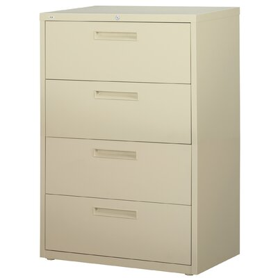 "CommClad 36"" Wide 4 Drawer HL5000-Series Lateral File Cabinet (Set of 2)"