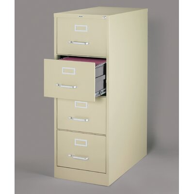 CommClad 25&quot; Deep Commercial 4 Drawer Legal Size High Side Vertical File Cabinet