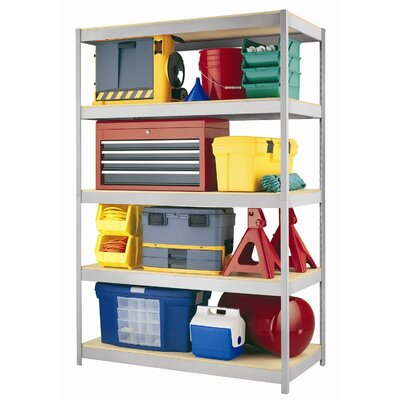"CommClad 1500 Series 72"" H Five Shelf Shelving Unit"