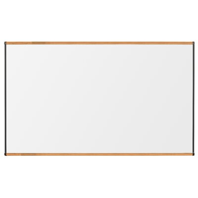 "CommClad 48"" x 96"" Thermal-Fused Melamine Whiteboard with Trim"