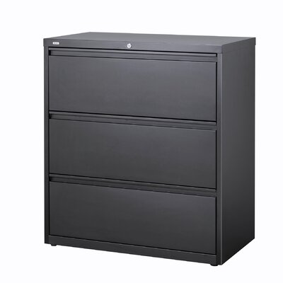 "CommClad 42"" Wide 3 Drawer Lateral File Cabinet"