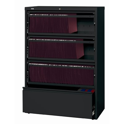 "CommClad HL8000 Series 36"" Wide Commercial Lateral Files 4 Drawer"