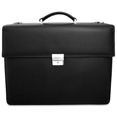 Jack Georges Prestige Double Gusset Flap Over Briefcase