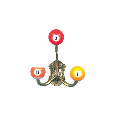 Cuestix Novelty Items Brass Coat Hook