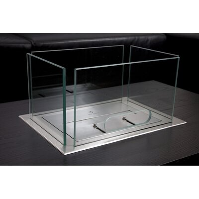 Bio-Blaze Table Insert Bio Ethanol Fireplace