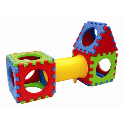 ECR4kids Sixteen Piece Cube Play