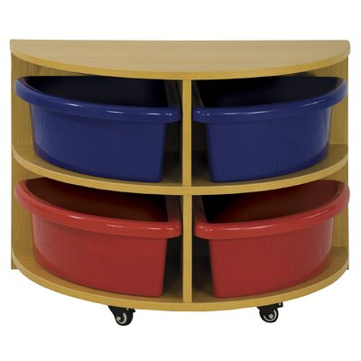 ECR4kids Half Circle Low Storage Center