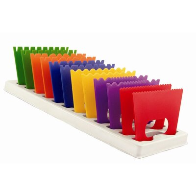 ECR4kids 12 Piece Paint Scrapers with Storage Tray