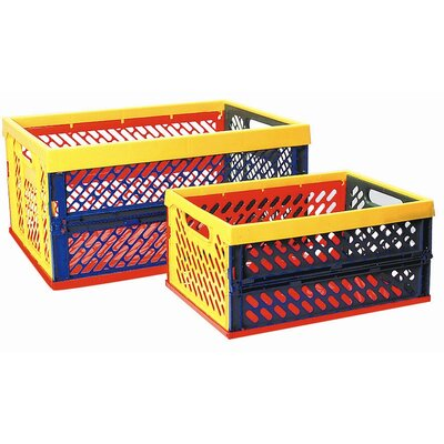 ECR4kids Large Ventilated Collapsible Crate