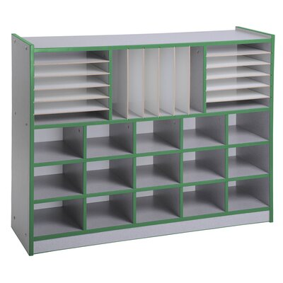 ECR4kids Multi Section Laminate Storage Unit
