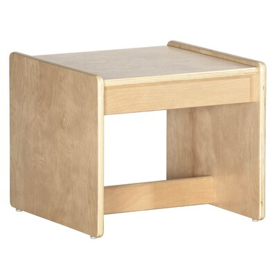 ECR4kids Living Room Set - Birch End Table