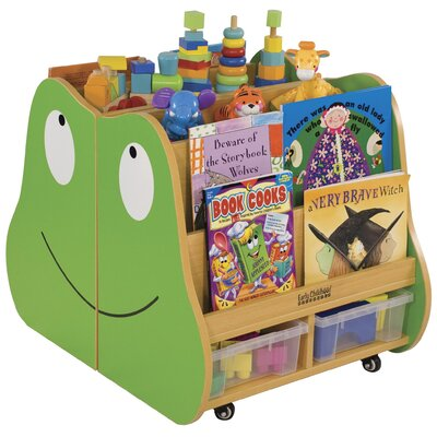 ECR4kids Frog Mobile Book Storage (2-Piece)