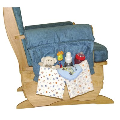 ECR4kids Glider Rocker with Standard Wood Base