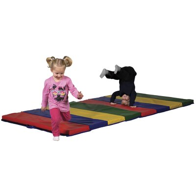ECR4kids 2&quot; Tumbling Mat - 4 Section (4'x8')