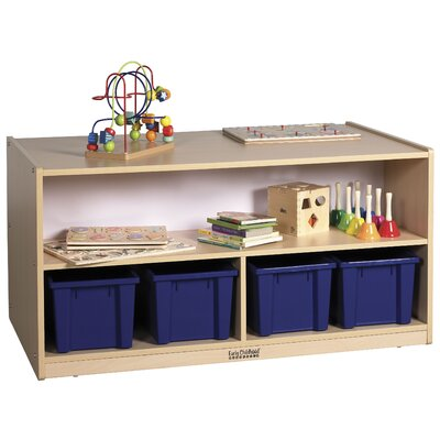 ECR4kids Double-Sided Low Cabinet