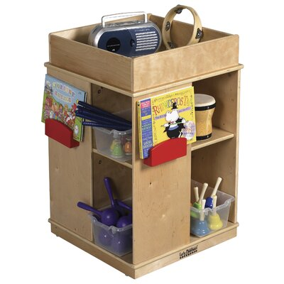 ECR4kids Square Book Display - Birch