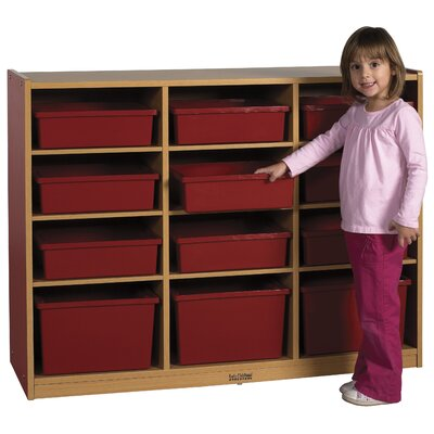 ECR4kids Colorful Essentials™ Multi-Purpose Cabinet-12 Compartment