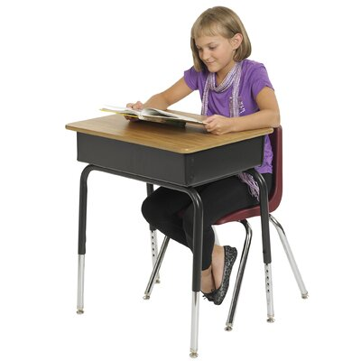 ECR4kids Laminate Open Front Desk